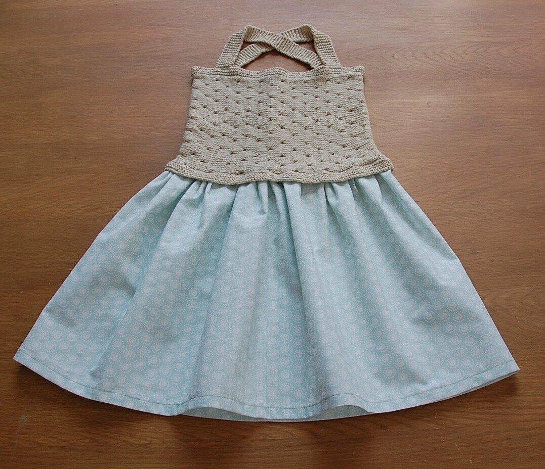 Petite robe d'été bi-matière et son tuto!
