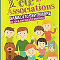 Forum et fête des associations 2016