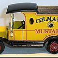 Y-12 Ford Model T Colmans Mustard A 3