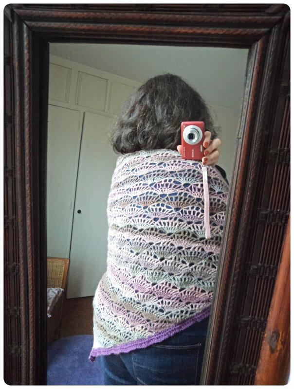 Châle Agave au crochet Cam&Drey bricolent
