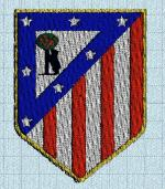 foot atletico madrid machine