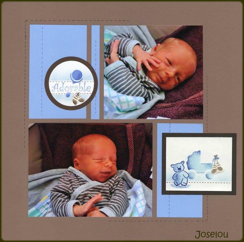 Sam bébé adorable