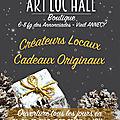 Boutique de créateurs à annecy, art'loc'hall, faubourg des annonciades
