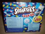 Glace smarties pop up
