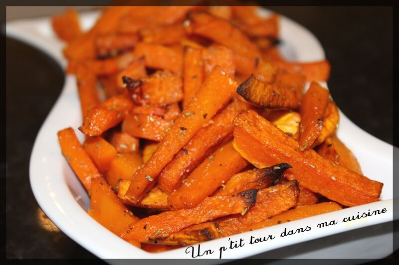 Frites courge