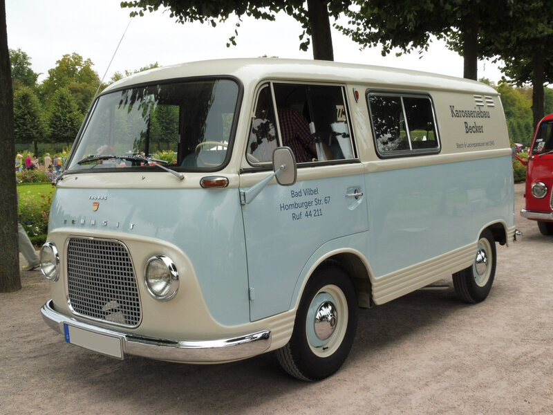 FORD Taunus Transit van 1965 Schwetzingen (1)