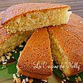 Faux gâteau creusois... à la noix de coco et au citron !