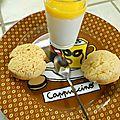 Panna cotta de noix de coco et de mangue