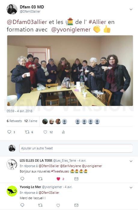 Les agricultrices actrices de leur communication : Dfam 03 connecté sur les réseaux sociaux !