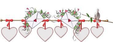 barre coeurs et lettres