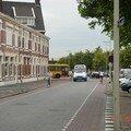 Piste cyclable sur la chaussée - Bergen op Zoom