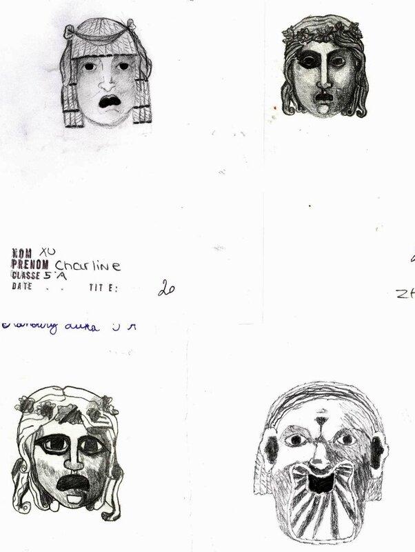 masques grecs