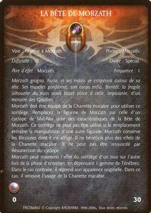 Morzath l'Infernal - La bête de Morzath (sort)