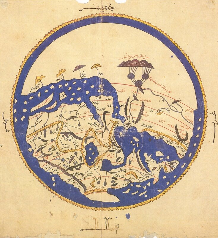 Al-Idrisi's_world_map
