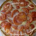 Tarte fondante aux tomates