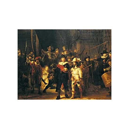 Puzzle pour perdre son temps ... La ronde de Nuit - Rembrandt
