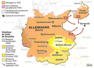 Les coups de force de l'Allemagne nazie (1935-1939)