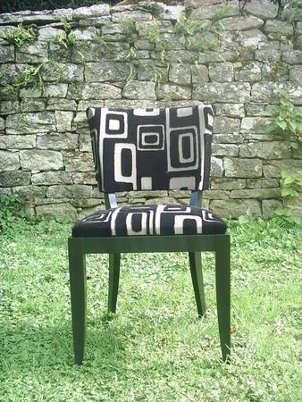 chaise art déco après