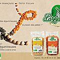 Torsades de lentilles vertes à la carbonara (vegan)...