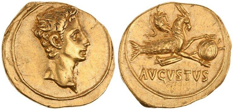 Aureus Issued by Augustus