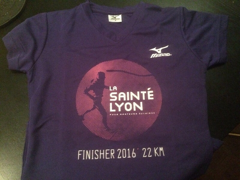 joli tee-shirt finisher