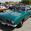 Plymouth barracuda notchback hardtop coupe-1968