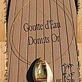 Goutte d'eau donuts or bis