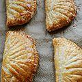 Chaussons aux pommes - pâte feuilletée maison
