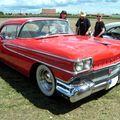 Oldsmobile dynamic eighty eight holiday hardtop coupe de 1958 (4ème Fête Autorétro étang d' Ohnenheim) 01