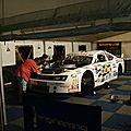 Réparation des voitures participant à la course Nascar