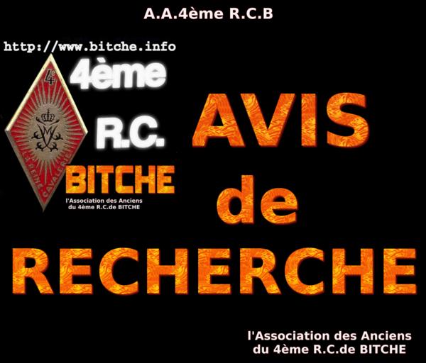 AVIS de RECHERCHE 02
