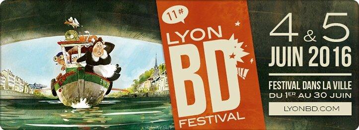 11èm Lyon BD Festival