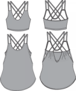 Papercut Patterns - Pneuma Tank j
