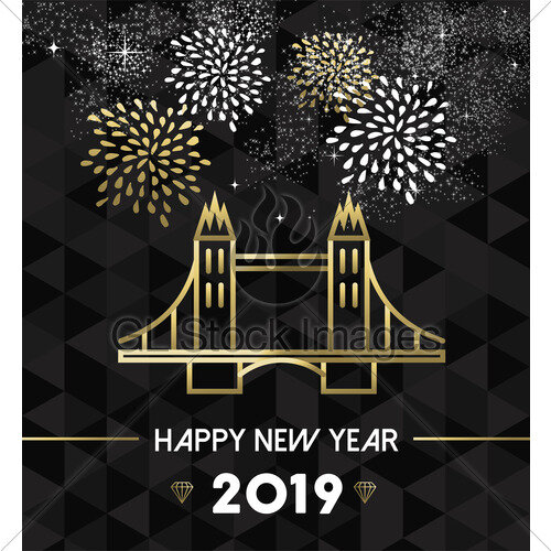 happy new year 2019 uk