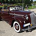 Opel admiral 4 portes cabriolet-1938