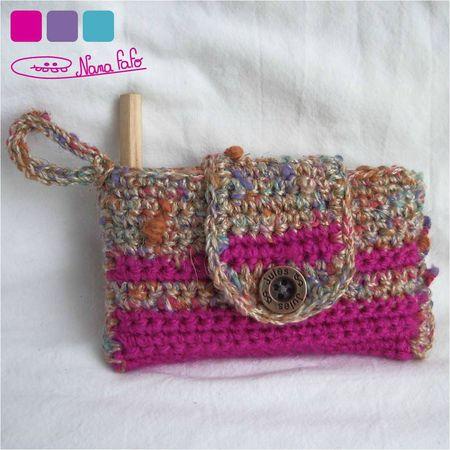 porte carte crochet bicolore01
