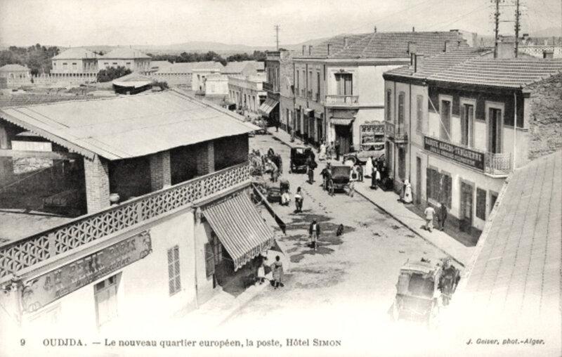 Oujda, nouveau quartier européen (1)
