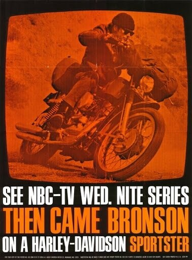 Série Then Came Bronson Sportster Forever