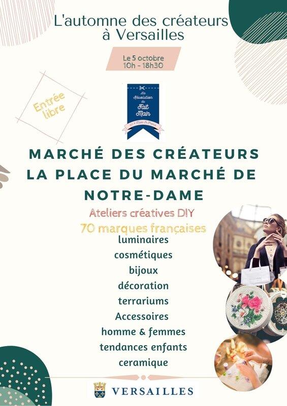 Clocréations-Marché créateurs Versailles