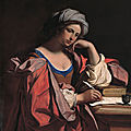 Guercino_-_The_Persian_Sibyl_-art projet pour la france