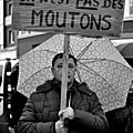 Un retour sans concessions dans les rues de dunkerque pour nos retraités contre la #csg du 1 er de cordée macron 1 er