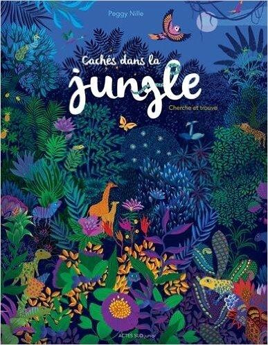 caches dans la jungle