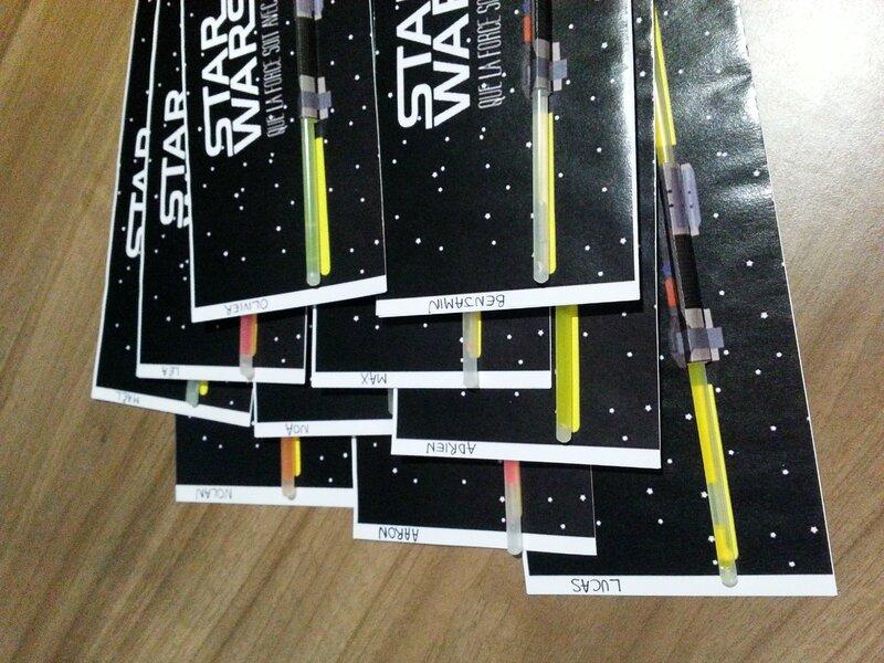 Un Anniversaire Star Wars Tu Organiseras Nous Et Les Minibouts