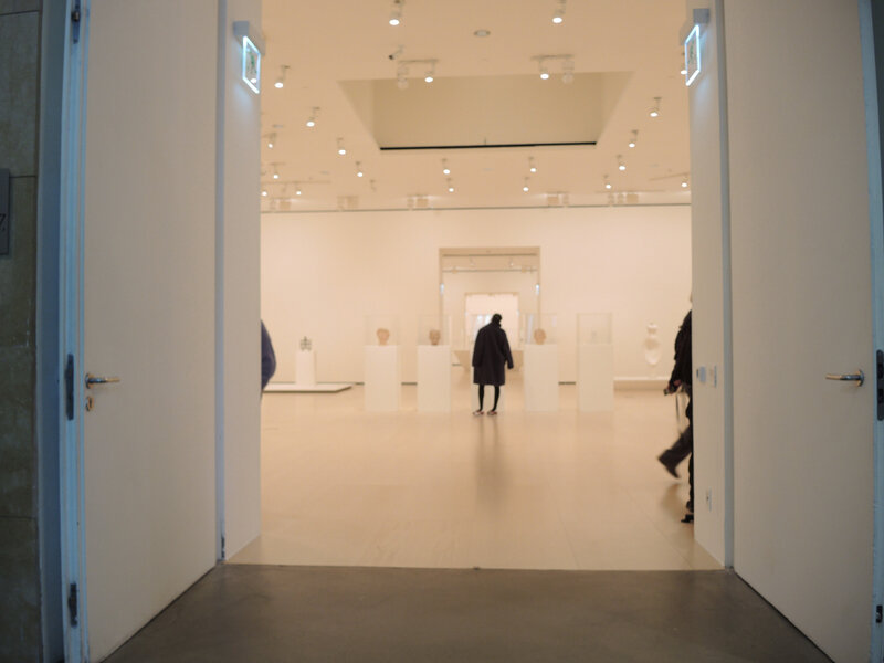 Bilbao, musée Guggenheim, exposition Giacometti (Espagne)