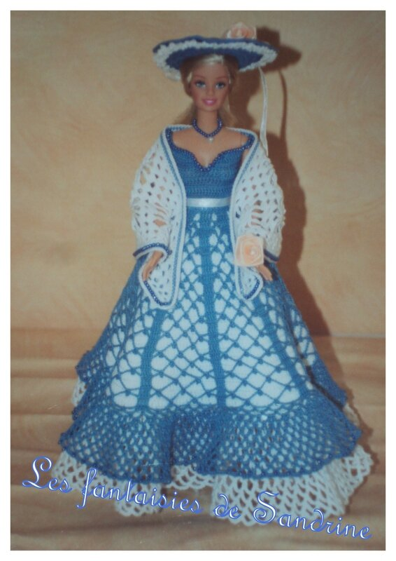 robe poupée barbie1