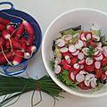 Et vous vous mettez quoi dans vos salades d'été ?