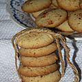 Ghribia au beurre et aux amandes : biscuit algérien