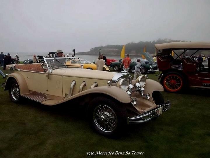 1930 - Mercedes Benz 5s Tourer