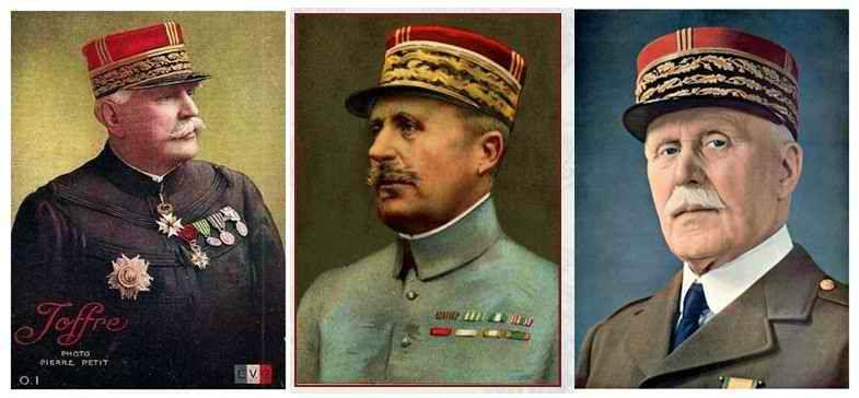 chefs des armées 14-18
