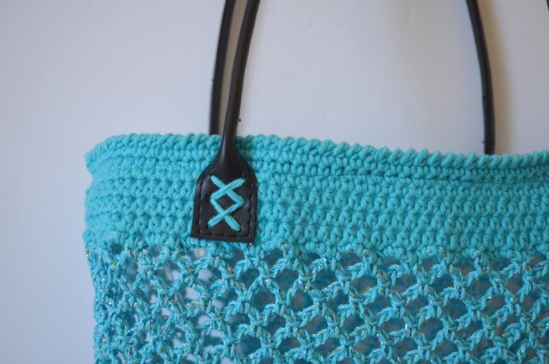 Sac crochet façon filet- la chouette bricole-tuto Crochet (11)